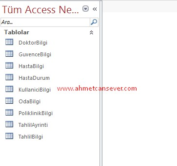 access_tablo_isim_cekme_1